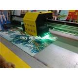 Digital machine to print plastic bag inkjet logo carton uv flatbed printing machine