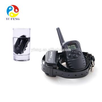 Водонепроницаемый пульт дистанционного управления анти-кора собака тренировка электрический ошейник для 2 собак с звуковой сигнал,вибрация и шок воротник