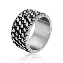 Men Rings 316L Stainless Steel Retro Jewellery
