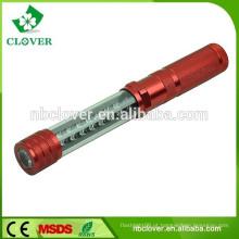 Outdoor camping alumínio 16 + 1 melhor lanterna led flexível chinês com ímã
