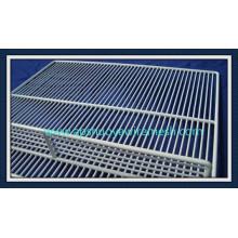 Prateleira de fio de geladeira de material de metal
