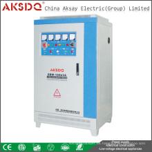 Regulador de la tensión de la energía compensada automática de la fase de 3W de la serie de SBW / DBW 100KVA 200KVA 300KVA 500KVA 600KVA 800KVA 1000KVA