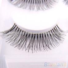 100% человеческих волос ресницы