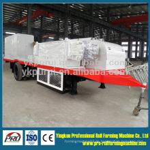 1000-700 große Dachspitze Bogen Gebäude Roll Forming Machine