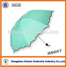 Guarda-chuva pequeno de dobramento do projeto do logotipo do ANÚNCIO