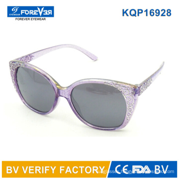 Kqp16928 Hotsale Big Frame Girls Sunglasses Good Quality
