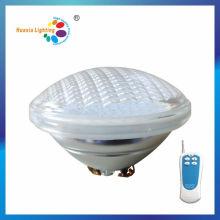 Lampe de piscine LED en verre 24 W avec télécommande