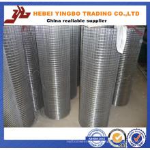 China Atacado Profissional Fabricação Galvanizado Engranzamento De Fio Soldado / PVC Revestido / Aço Inoxidável Malha De Arame Soldada