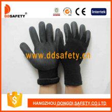 Nylon negro con guante de nitrilo negro-Dnn459