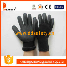 Black Nylon with Black Nitrile Glove-Dnn459