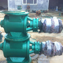 General low pressure rotary valve for silo dump
