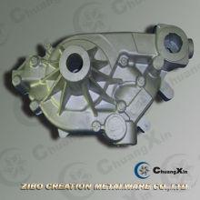 De alta calidad A356 Automóvil de la bomba de agua de la cubierta de aluminio de gravedad de fundición
