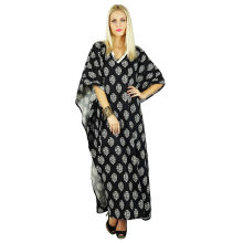 Wholesale Custom Women Fashion Tunic Kaftan (XY190)
