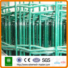 Green holland wire mesh fence panel