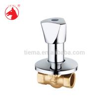 Brass concealed stop valve globe valve (ZS1502-1)