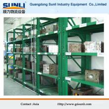 Estante de molde de cajón industrial estándar
