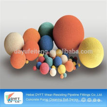 condenser cleaning rubber sponge ball