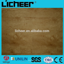 Valinge нажмите OAK виниловые полы доски с Fiberglass / виниловые плитки / UV покрытие