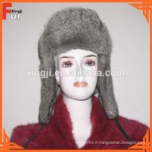 Chapeau de fourrure d'hiver pour les hommes
