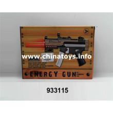 Novo brinquedo de plástico B / O Gun com silenciador (933115)