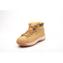 Sapatos de segurança Nubuck couro com camurça língua (LZ5004)