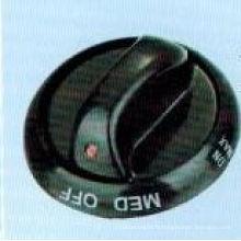 Bouton en plastique, gaz poêle bouton, bouton du four