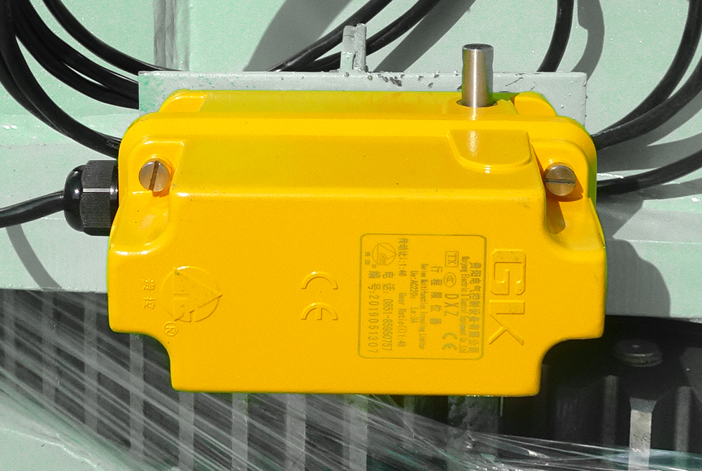 1 :46 limit switch for slewing mechanism