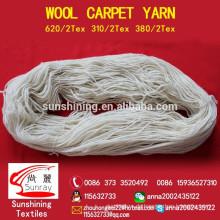 100% Wollgarn für Teppich 310tex / 2