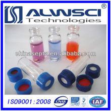 9-425 Frasco de vidro transparente adequado para Agilent Autosampler