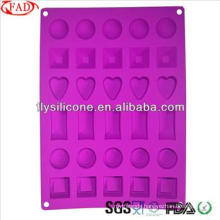 2015 Popular Cake Mold Silicone Non-stick Unique Chocolate Mold