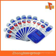 Empaquetado plástico de la forma de encargo comercial para el alimento / la medicina / el cosmético Hecho por la fábrica