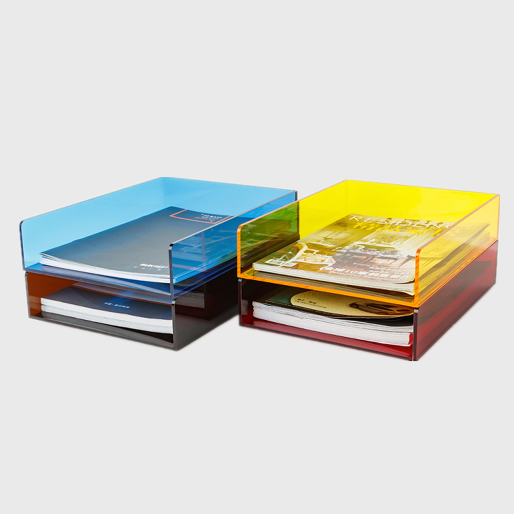 Acrylic Stackable Letter Tray