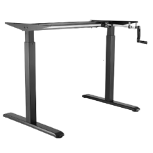 20 Years manufacturer for Hand Cranked Standing Desks Manual Height Adjustable Desk Hand Cranked Adjustable Table Frame Only export to Armenia Manufacturer