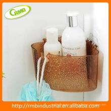 Estanterías plásticas de esquina de baño
