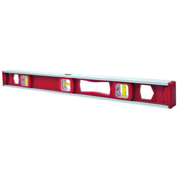 Plastic Level with Aluminum Frame (700501)
