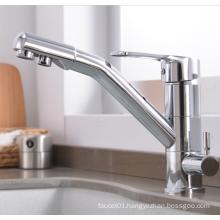 YL-501 Chrome plated water purifier tap 3 way kitchen sink mixer faucet purifier kitchen faucet