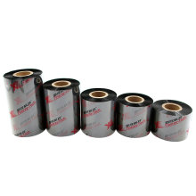 Cheap price OEM size 60mm*300m resin ribbon for thermal transfer printer to print tag labels