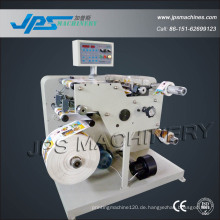 Auto Roll Blank Adhesive Label Aufkleber Slitter Rewinder Maschine