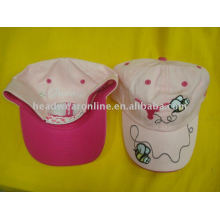 children animal caps with embroidery logo