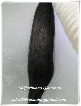 Black Horse Tail Hair Extension