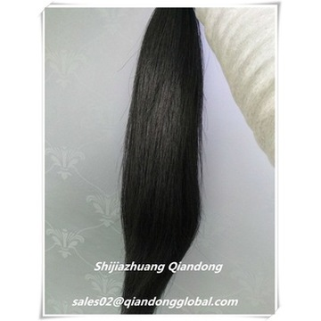 Gekleurde Black Horse Tail Hair Extension