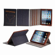 Jeans stand case for iPad air