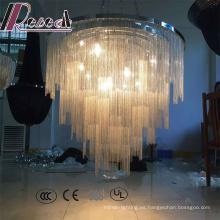 Lámpara colgante moderna de las cadenas decorativas de las ventas calientes para el pasillo