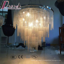 Lampe pendante moderne de cordes décoratives de ventes chaudes pour le lobby