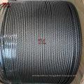 Precio de fábrica de 1 mm de cable de acero inoxidable 7 * 7