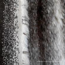 Акриловая длинная пышная ткань