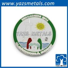 изготовление изготовленный на заказ серебряный чехол упаковка монета монета