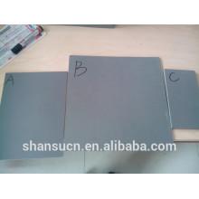 Tablero de espuma de PVC blanco tamaño 1.22 * 2.44 m, tablero de espuma de celuka de 12 mm de grosor