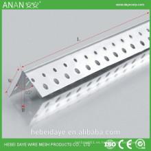 Borde del panel de yeso 85 grados en el borde o cinta de esquina