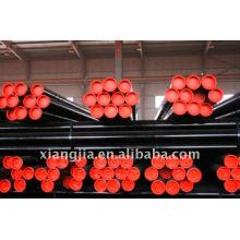 Vente chaude sans soudure abri en tube d'acier ondulé